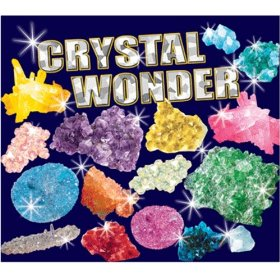 Crystal growing was tedious but cool.
